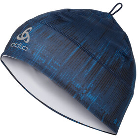 Odlo Polyknit Gorra, estate blue/graphic20